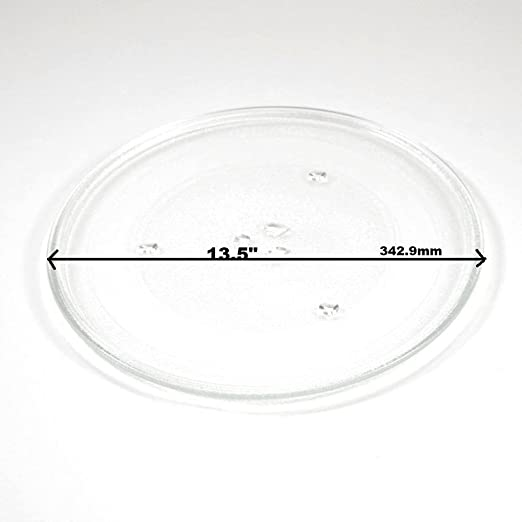 Frigidaire UNI88138 - Plato de cristal para microondas (13,5 ...