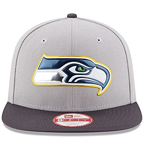 444d1e54 Amazon.com : New Era NFL Seattle Seahawks Gold Collection Gray 9FIFTY  Original Fit Snapback Cap NewEra : Sports & Outdoors