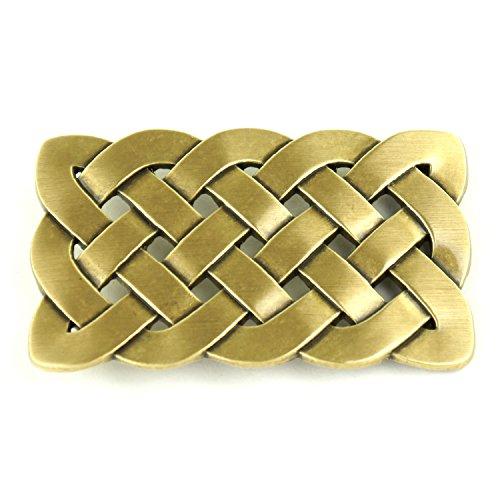 Antique Cross Belt (Ride Away Celtic Knot Cross Antique Finish Belt Buckle (Bronze Celtic Knot ))
