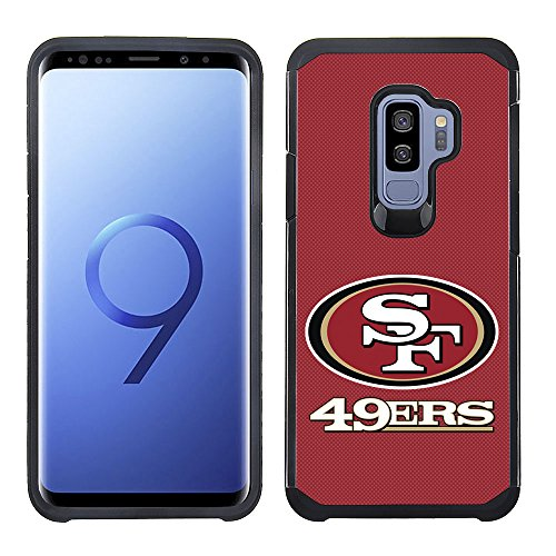 - Prime Brands Group Textured Team Color Cell Phone Case for Samsung Galaxy S9 Plus - NFL Licensed San Francisco 49Ers