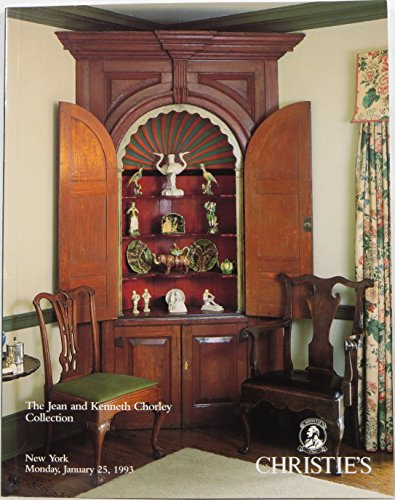 The Jean and Kenneth Chorley Collection: Important English Pottery and American and English Furniture, Works of Art and Paintings, New York, Monday, January 25, 1993 (Sale CHORLEY-7614) (Creamware Collection)