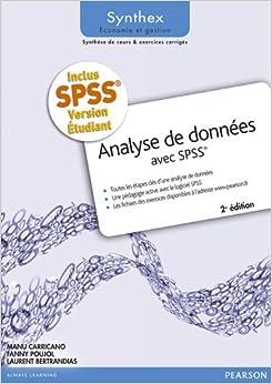 Analyse de données avec SPSS, 2e édition + logiciel SPSS version étudiante pour Windows