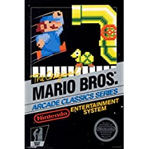 Mario Brothers Arcade Classic Series Nintendo NES Game Series Vintage Box Art Print Poster - 12x18