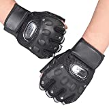 Doinshop Mens Gym Training Gloves Sports Weight Lifting Workout Exercise