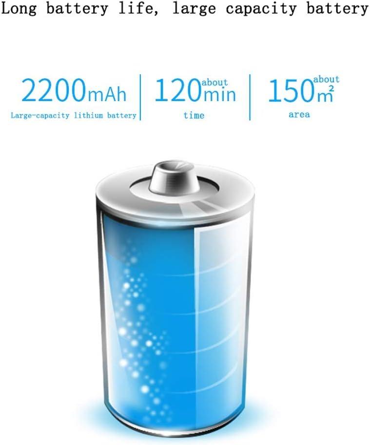 Aspirateur Robot, l\'aspiration puissante 1200Pa revient automatiquement à sa station de chargement idéal pour les Poils d\'Animaux Tapis Moquettes Sols Durs (Color : Blue) Blue