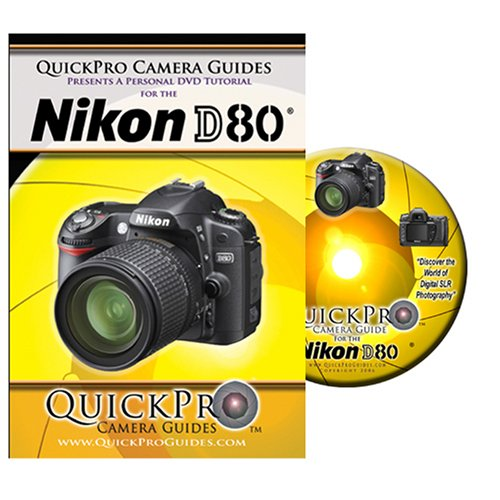 Nikon D80 Instructional DVD by QuickPro Camera ()