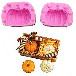 3D Pumpkin Silicone Mold - Mini Pumpkin Mold for H