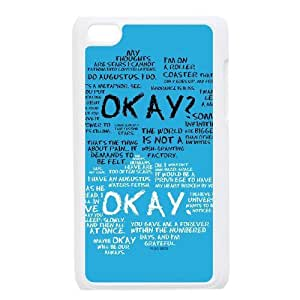 D-PAFD Phone Case Okay,Customized Case ForIpod Touch 4