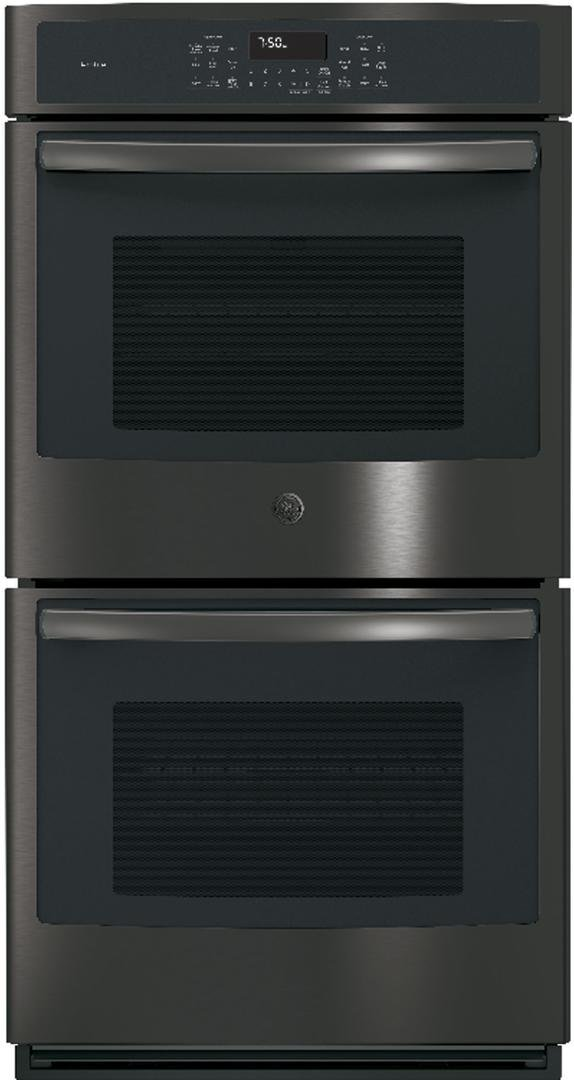 GE Profile PK7500BLTS 27 Inch 8.6 cu. ft. Total Capacity Electric Double Wall Oven in Black Stainless Steel