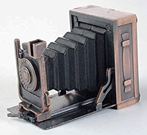 Box Camera with Billow Die Cast Metal Collectible Pencil Sharpener