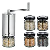 Zassenhaus Concept Spice Mill with 4 Small Storage Jars & 1 Collection Jar review