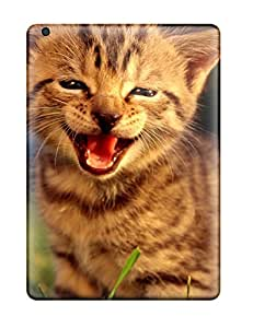 Ipad Air Case Slim [ultra Fit] Smiling Kitten Protective Case Cover