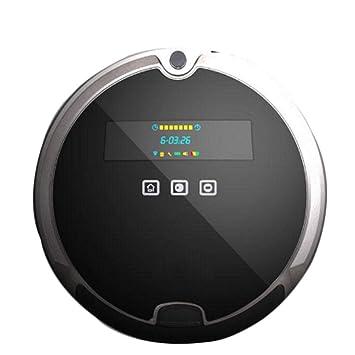 Barredora de Limpieza Smart Touch de Gran Capacidad con trapeado planeado, Robot de Barrido de Carga automática con trapeador húmedo seco, aspiradora casera ...