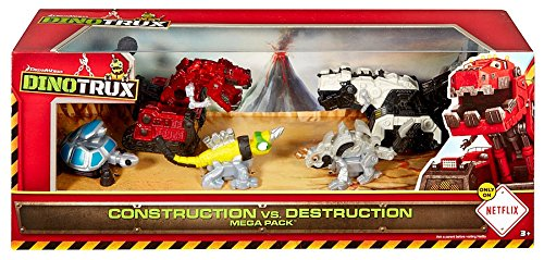 Dinotrux Construction vs. Destruction Mega Pack Diecast Figure 5-Pack