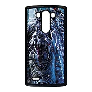 LG G3 Cell Phone Case Black The Lich King5 Tudxs