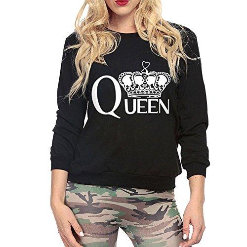Hengzhi Womens Sleeve Sweatshirt Pullover