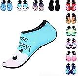 Water Shoes for Women Men Kids,YOOKOO Durable Sole Barefoot Water Skin...
