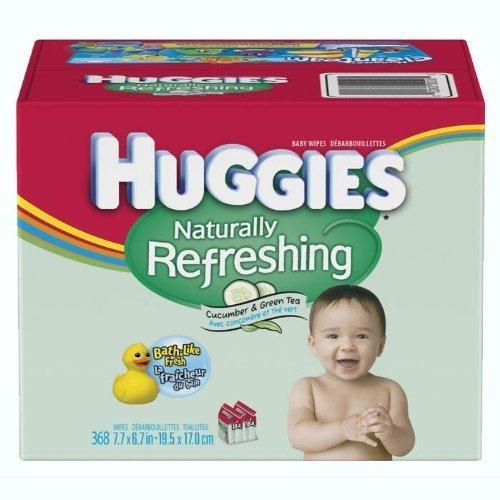 Huggies Naturally Refreshing Wipes (HUGGIES Naturally Refreshing Wipes- 368 ct.)