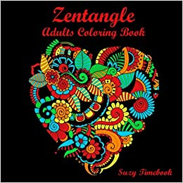 Amazon.com: Zentangle Adults Coloring Book Art Therapy ...