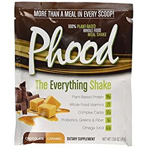 PlantFusion Phood Packets, Chocolate Caramel, 1.59 Ounce (pack Of 12)