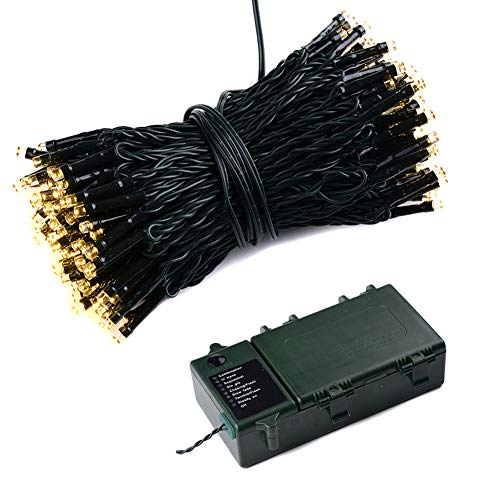 Abba Patio LED String Lights Battery Pow...