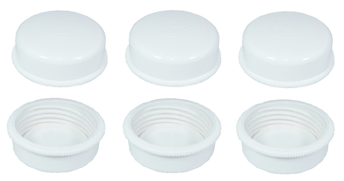 Sealing Caps Lids for Wide Neck Collection Bottle Avent Natural Polypropylene Bottles and Nenesupply Wide Neck Bottles Storage Bottle Cap Replace Avent Natural Bottle Sealing Ring and Sealing Disc