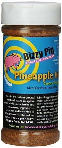 Dizzy Pig BBQ Pineapple Head Rub Spice - 8.7 Oz. by Dizzy Pig Barbeque
