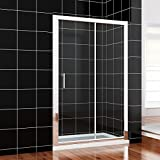 1400mm Sliding Shower Door Eenclosure Cubicle FREE NEXT WORKING DAY DELIVERY by sunny showers