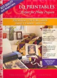 Electric Quilt EQ Printables Premium Cotton Lawn Inkjet Fabric Sheets: Package of 5