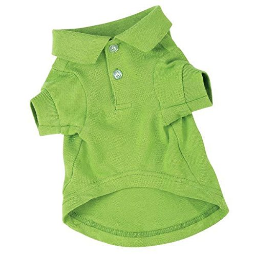 (Zack & Zoey Polo Dog Shirt Preppy Button Down Cotton Shirts for Dogs 5 Colors to Choose from(Medium - 16