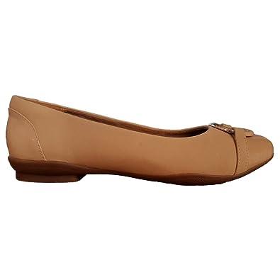 Clarks Beige Femme Mocassins Pour Combi Chaussures Nude SqwSrCa