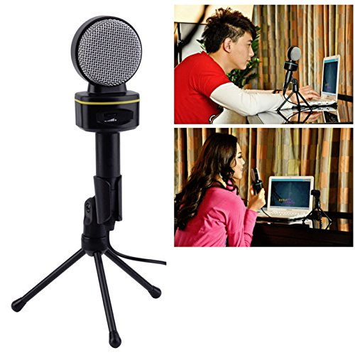 Jeystar SF-930 Professional Condenser Sound Microphone With Stand for PC Laptop Skype Recording by Jeystar (Image #8)