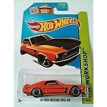 Hot Wheels, 2015 HW Workshop, '69 Ford Mustang Boss 302 [Orange] 195/250