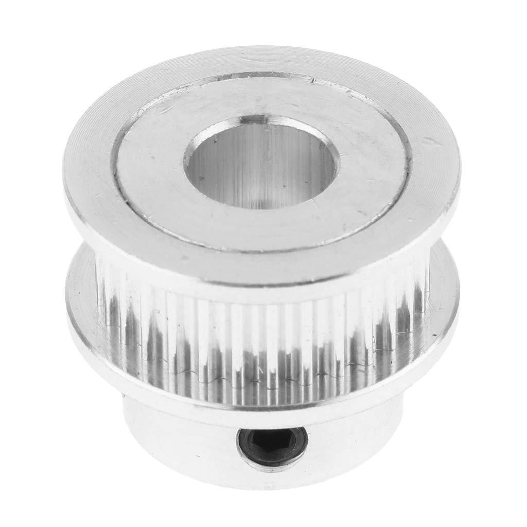 perfk Gt2 Zahnriemenscheibe mit 30 Zähnen Für 6mm Gurt 3D Drucker Teile 5 / 8mm Bohrung - Splitter 8mm