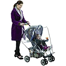 Nuby Stroller Weather Shield, Clear