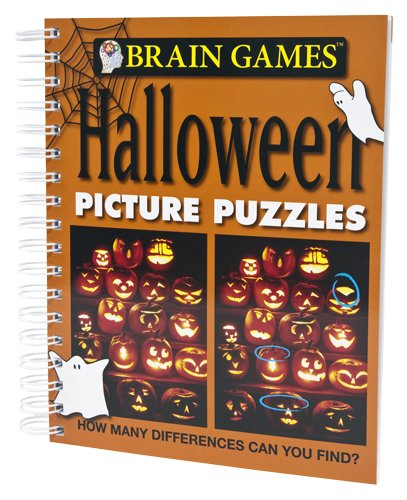 Brain Games: Halloween Picture (Halloween Games Puzzles)