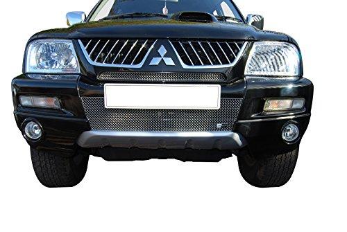 Mitsubishi L200 Front Grille Set - Silver finish (Pre 2007 ) (Mitsubishi L200 Front Guard compare prices)