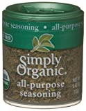 Simply Organic All-Purpose Seasoning Certified Organic.42 Ounce Containers (Pack of 6)