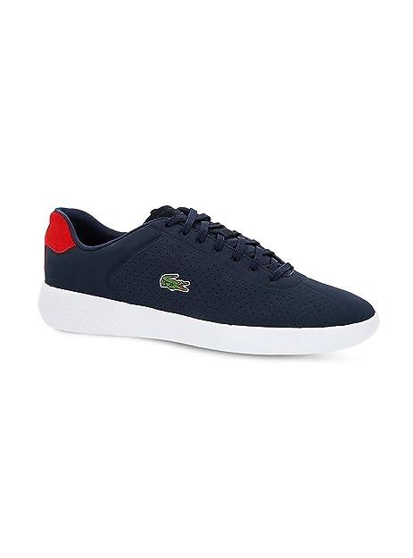 Zapatillas Lacoste Avance Marino Hombre: Amazon.es: Zapatos y complementos