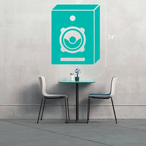 (2x) StickAny Wall Series Speaker Box Small Sticker for Windows, Rooms, and More! (8830 Series)