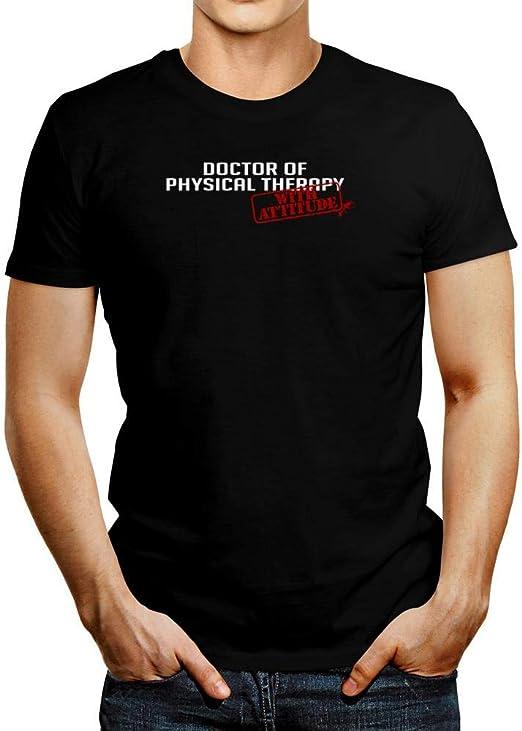 Idakoos Doctor de Fisioterapia con Attitude Stamp T-Shirt ...