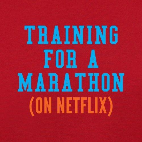 Rouge Training Unisex Marathon Couleur Netflix For 12 A On pull Sweat Dressdown RPYwdqCw