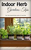 Indoor Herb Gardens Tips: The 3 Most Typical Pit Falls And How To Avoid Them