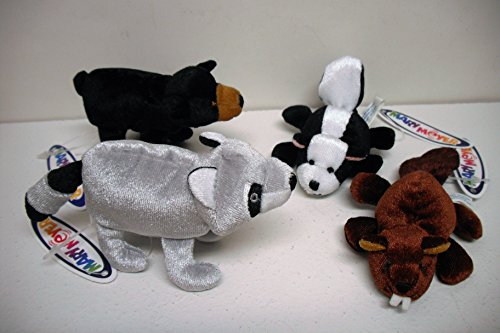 - Forest Knucklehead Finger Puppets Set of 4