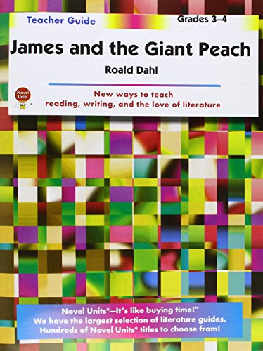James and the Giant Peach - Teacher Guide by Novel Units (The Rhino In James And The Giant Peach)