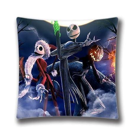 Amazon Com Cute Snowman Pillow Case Nightmare Before Christmas