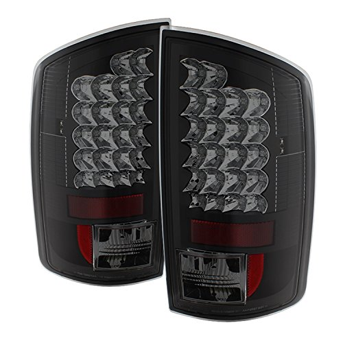 Spyder Auto ALT-YD-DRAM02-LED-BSM Dodge Ram LED Tail Light Black Smoke