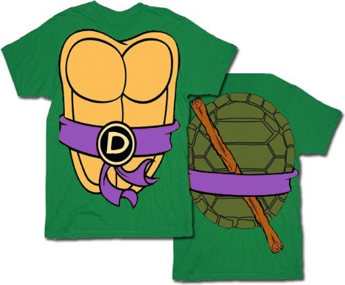 [I Am Donatello TMNT Costume T-Shirt Medium] (Ninja Costume Man)