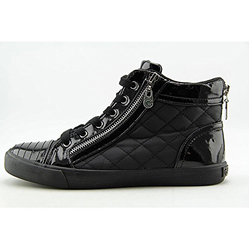 G By Guess Mujer orily acolchada high-top Zapatillas Negro/Negro