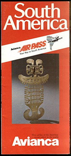 (Avianca AirPass South America 7-21 Day airline folder)